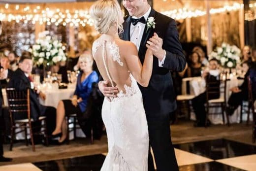 newly-weds-dancing-their-first-dance-at-a-bow-tie-collaborative-event