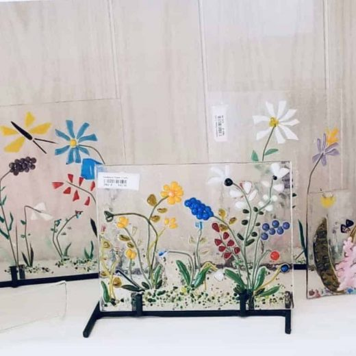 clear-back-ground-bright-floral-fused-glass-art